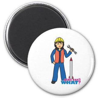 Rocket Scientist - Medium Fridge Magnet