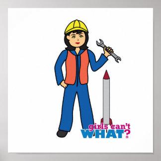 Rocket Scientist - Medium Poster