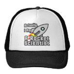 Rocket Scientist Trucker Hat