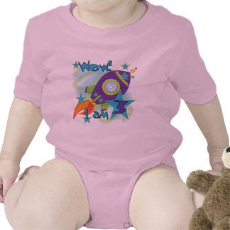 Rocket Ship 3rd Birthday T-shirts and Gifts