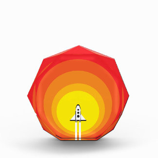 Rocket ship and the sunspot award