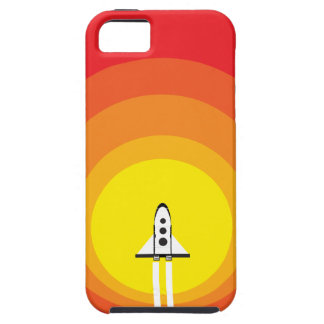 Rocket ship and the sunspot iPhone SE/5/5s case