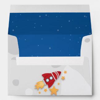Rocket Ship Envelope
