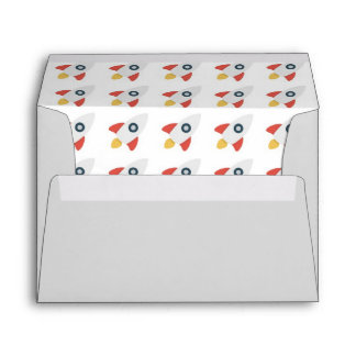 Rocket Ship kids envelope