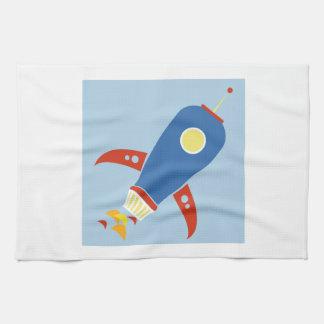 Rocket Ship Towels