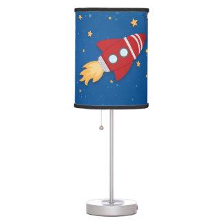 Rocket Ship Table Lamp
