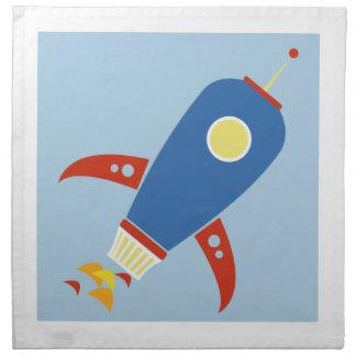 Rocket Ship Napkins