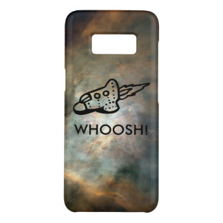 Rocket Ship Pictogram in Space Nebula Case-Mate Samsung Galaxy S8 Case