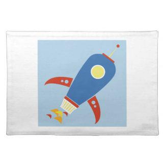 Rocket Ship Placemat