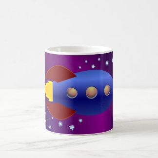 Rocket Ship to the Stars Coffee Mug
