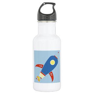 Rocket Ship Water Bottle