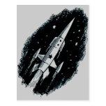 Rocket Ship X-11 Postcards