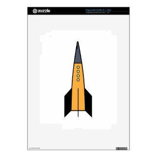 Rocket Decals For iPad 2