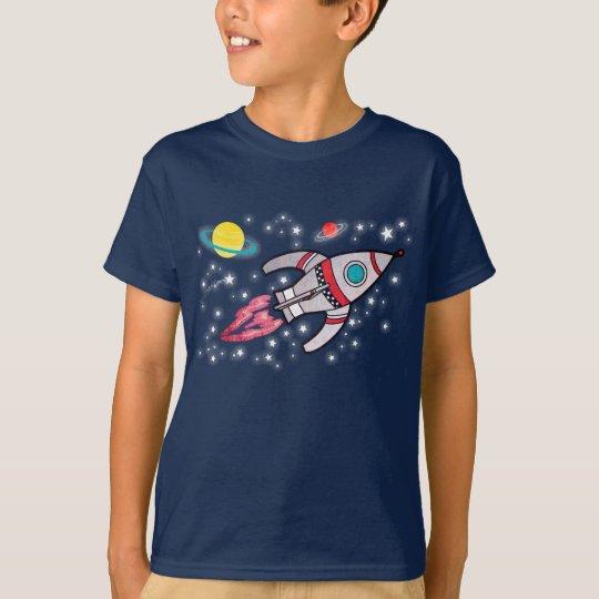 Rocket space boys navy t-shirt