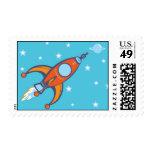 Rocket stamp