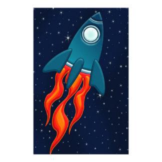 Rocket Stationery