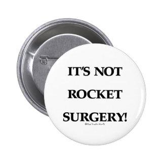 Rocket Surgery Pinback Button