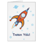 Rocket Thank You Card