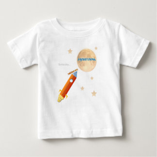Rocket To The Moon Baby T-Shirt