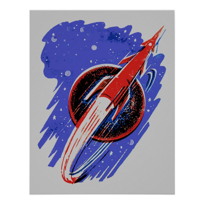 Rockets To The Moon: ROCKET TO THE MOON POSTER