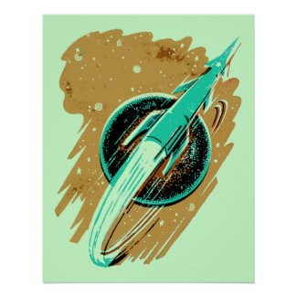 ROCKET TO THE MOON POSTER