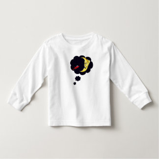 rocket to the moon toddler t-shirt