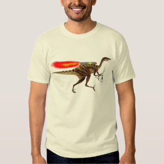 Rocket Velociraptor Shirt