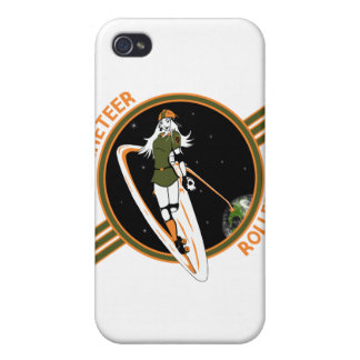 Rocketeer Rollers iPhone4 case