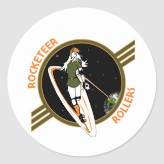 Rocketeer Swag Classic Round Sticker