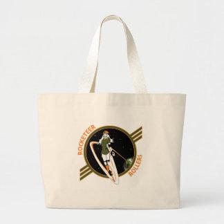 Rocketeer Swag Large Tote Bag