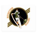 Rocketeer Swag Postcard
