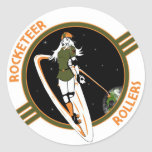 Rocketeer Swag Round Sticker