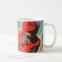 geek, comic, book, sci fi, funny, vintage, rocketman, comic books, cool, funny mug, vintage comic books, heroes, retro, superhero, action, rocket man, adventure, pop culture, fun, science fiction, superheroes, popular culture, comics, sci fi comics, pop art, vintage comics, mug, Mug with custom graphic design