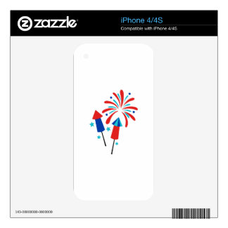 Rockets And Fireworks Skins For The iPhone 4