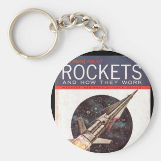 Rockets and How They Work_Pulp Art Keychain