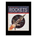 Rockets and How They Work_Pulp Art Poster