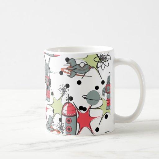 Rockets and Robots Coffee Mug