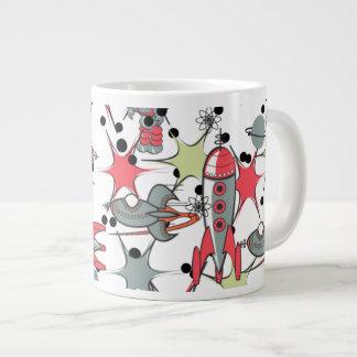Rockets and Robots Large Coffee Mug