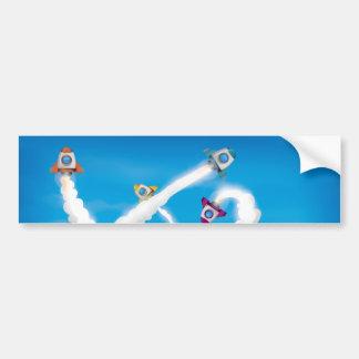 Rockets! Bumper Sticker