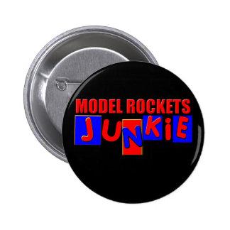 Rockets modelo pin redondo de 2 pulgadas