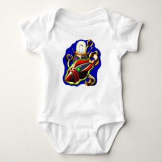 Rockets 'n Robots Baby Bodysuit