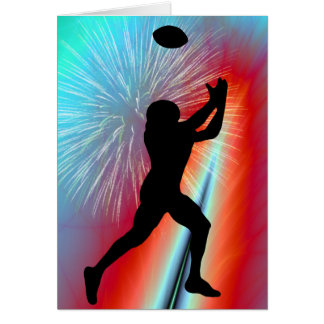 Rocket's Red Glare Football Catch Card