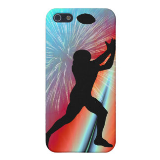 Rocket's Red Glare Football Catch iPhone SE/5/5s Case