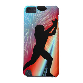 Rocket's Red Glare Football Catch iPod Touch (5th Generation) Case
