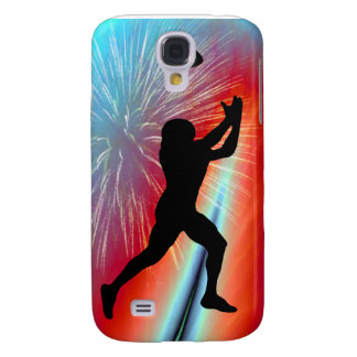 Rocket's Red Glare Football Catch Samsung Galaxy S4 Case