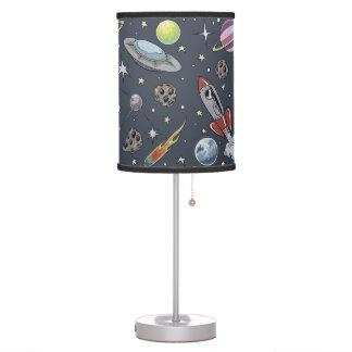 Rockets retros lámpara de escritorio