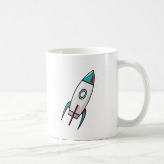 Rockets rojos y azules taza de café