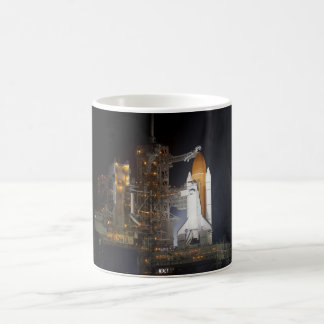Rocketship Classic White Coffee Mug