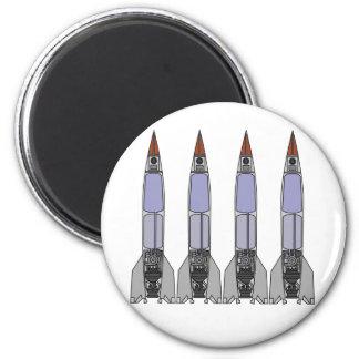 Rocketz5 2 Inch Round Magnet