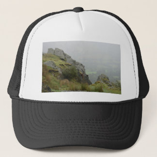 Rockface of St Tydecho - Patron Saint of Mawddwy Trucker Hat